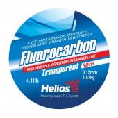 Леска Helios FLUOROCARBON Transparent 0,15 мм/50