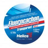 Леска Helios FLUOROCARBON Transparent 0,20 мм/50