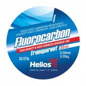 Леска Helios FLUOROCARBON Transparent 0,35 мм/30