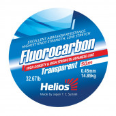 Леска Helios FLUOROCARBON Transparent 0,45 мм/30