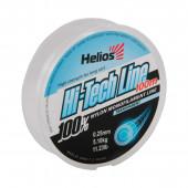 Леска Helios Hi-tech Line Nylon Transparent 0,25 мм/100