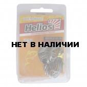 Крючок двойной SD-36 №6 цвет BC (20шт) Helios