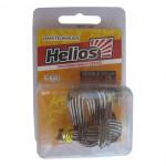 Крючок двойной TW-01 №2 цвет BC (20шт) Helios