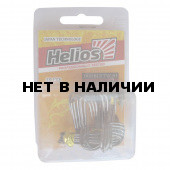 Крючок двойной TW-01 №2/0 цвет BC (20шт) Helios