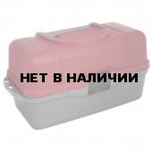 Ящик рыболова трехполочный Helios 43х22х24см