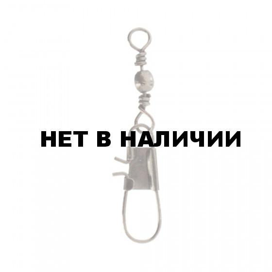 Застежка с вертлюжком Mikado Interlock № 14. тест 10 кг. (12 шт.)