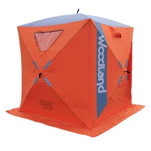 Палатка зимняя Woodland ICE FISH 4, 180х180х210 см.