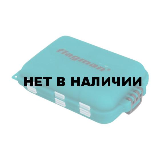 Коробка для крючков Flagman 10 отделений двойная 95*60*28мм