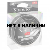 Шнур плетеный Mikado NIHONTO FINE BRAID 0,12 black (150 м) - 8.80 кг.