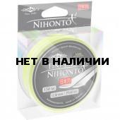 Шнур плетеный Mikado NIHONTO FINE BRAID 0,18 fluo (150 м) - 14.40 кг.