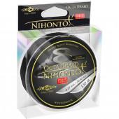 Шнур плетеный Mikado NIHONTO OCTA BRAID 0,20 black (150 м) - 18.10 кг.