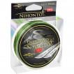 Шнур плетеный Mikado NIHONTO OCTA BRAID 0,08 green (150 м) - 5.15 кг.
