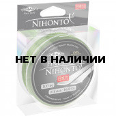 Шнур плетеный Mikado NIHONTO FINE BRAID 0,30 green (100 м) - 29,60 кг.