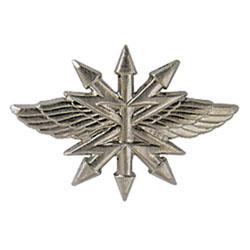 Эмблема петличная Войска связи нового образца полевая металл
