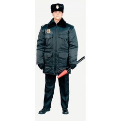 Куртка зимняя Охранник п\а 5218М