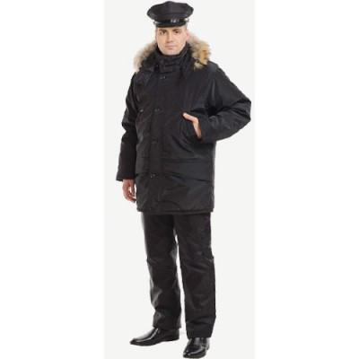 Куртка мужская Аляска с натуральный мехом п/а 5201
