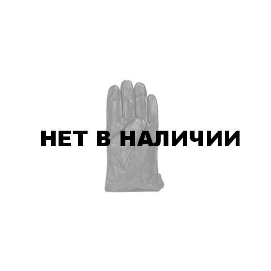 Перчатки кожаные с трикотажной подкладкой