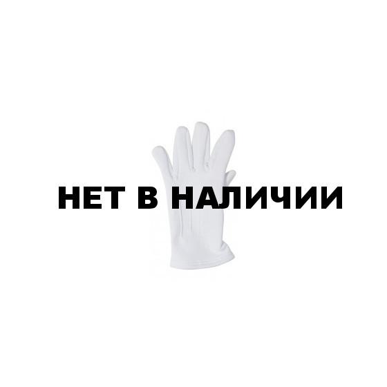 Перчатки белые парадные зимние (футер)