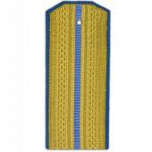 Погоны ВВС-ВДВ парадные с 1 голубым просветом