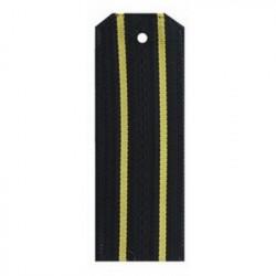 Погоны ВМФ Старшего офицерского состава черные