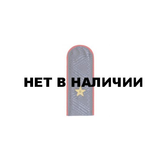 Погоны генерал-майор Полиции с хлястиком повседневные