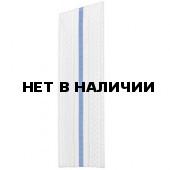 Погоны ВВС-ВДВ белые с 1 голубым просветом МО