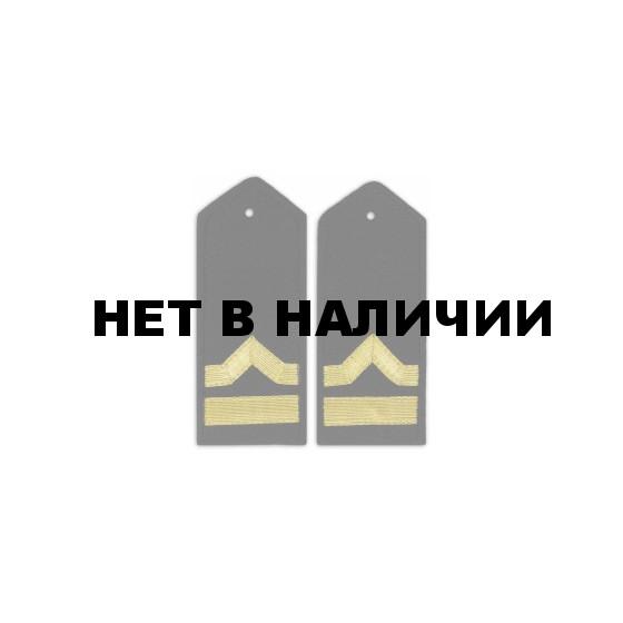 Погоны Речного флота 6 категория черные