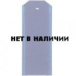 Погоны ВВС синие с голубым кантом