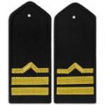 Погоны Речного флота 7 категория черные