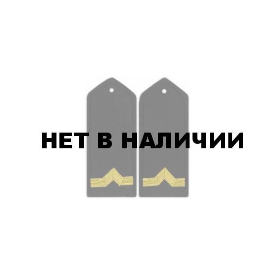 Погоны Речного флота 5 категория черные