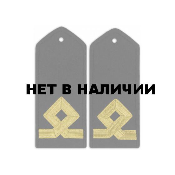Погоны Морского флота 5 категория черные