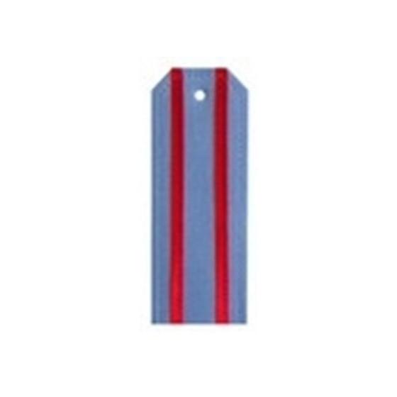 Погоны МВД из сорочечной ткани (старого образца) с 2 просветами