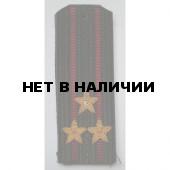 Погоны ВВ Полковник вышитые латунь