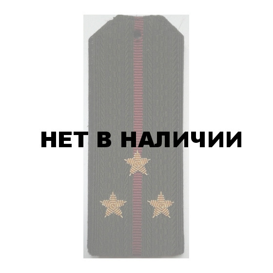 Погоны Росгвардия Старший лейтенант вышитые золото