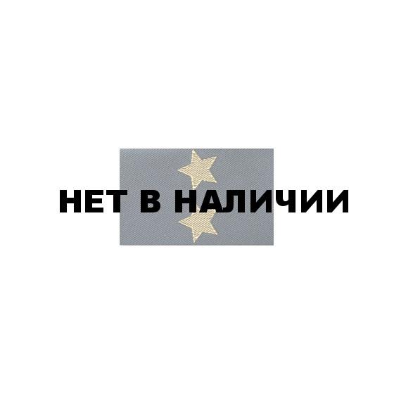 Фальшпогоны МВД Подполковник тканые