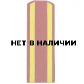 Погоны ВС Курсант красные
