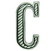 Литера С полевая металл