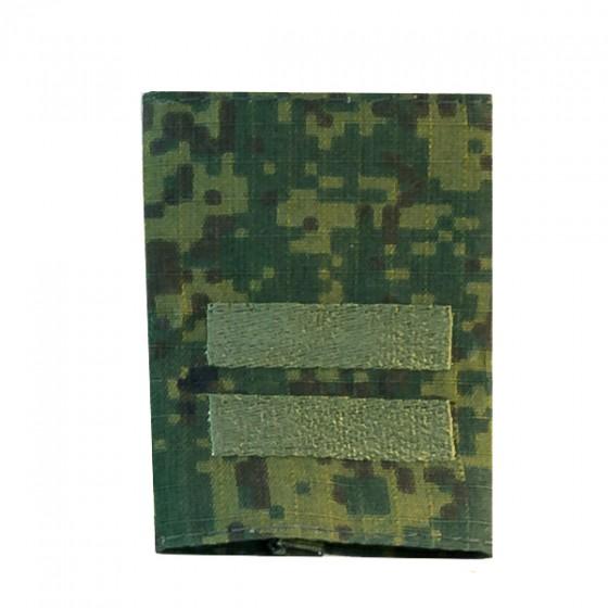 Фальшпогоны без липучки Младший сержант цифровая флора вышивка ш