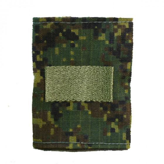 Фальшпогоны без липучки Старший сержант цифровая флора вышивка ш