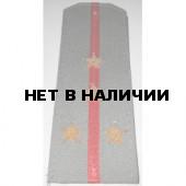 Погоны ВВ Капитан рубашечная, ткань вышитые латунь