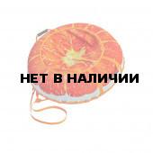 Санки-ватрушка тюбинг Митек Сочный апельсин 110 см