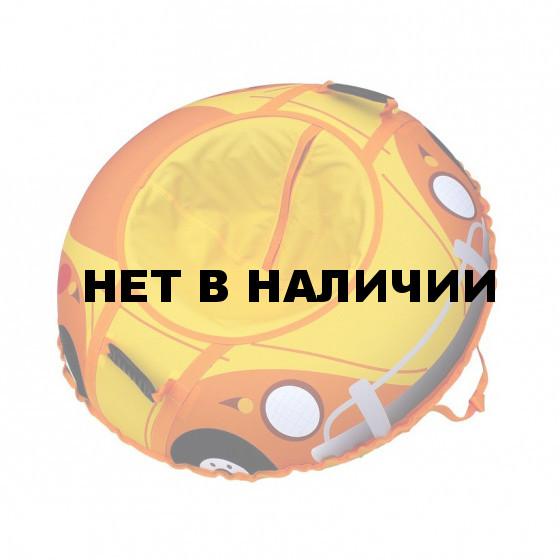 Санки-ватрушка тюбинг Митек Веселая машинка 110 см