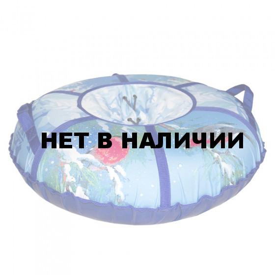 Тюбинг Санки-Ватрушка Снегирёк 75 см