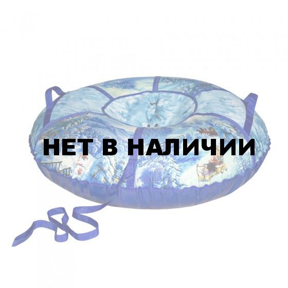 Тюбинг Санки-Ватрушка Тройка 75 см с камерой