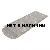 Спальный мешок Привал, камуфляж молния слева