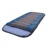 Спальный мешок Camp bag плюс синий/серый