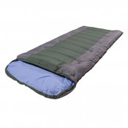 Спальный мешок Camp bag плюс серый/зелёный