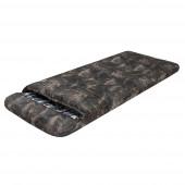 Спальный мешок Берлога, камуфляж молния справа