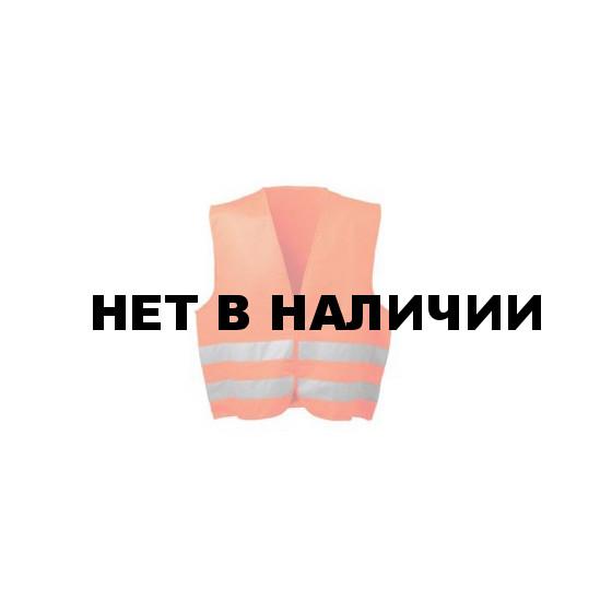 Жилет сигнальный оранжевый б/ш (спецодежда)