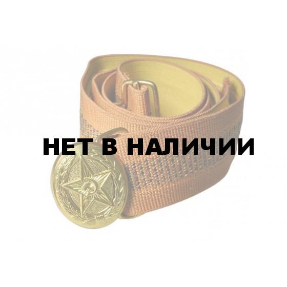 Ремень офицерский парадный желтый шелковый МВД с/о